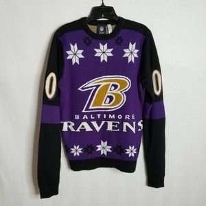 Baltimore Ravens Women's Ugly Christmas Sweater